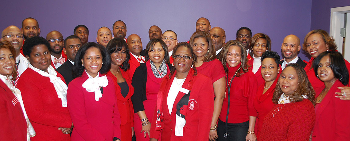 Go Red Initiative – LDAC and The Ladies of Delta Sigma Theta